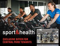 Sport & Health eBlast & Facebook Ads