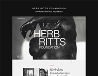 Herb Ritts Foundation: Website