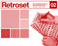 Retroset 02 - Dry Transfer Effects