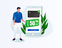 Credit Card Offer Illustration