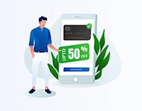 Credit Card Offer Illustration