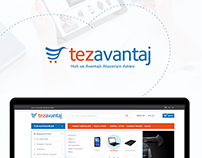 Tezavantaj Shopping Website