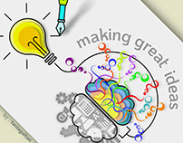 [Illustration ] - Making great ideas