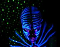 UV Bodypainting by Alienjedna