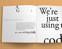 typesetting | type + image