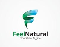 Feel Natural - F Letter Logo - [For Sale]