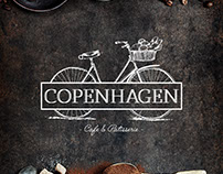Copenhagen cafe and patisserie Branding
