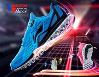 Walton Shoes Branding (Class Work)