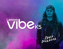 Vibe K5 - David González