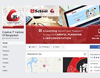 Cover photo design of CREATIVE IT INSTITUTE