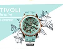 Spring in December : Newsletter Layout Design