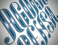 Agora Pensa (lettering)
