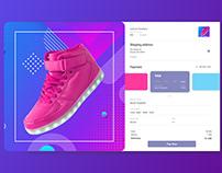 Sneaker Checkout UI