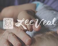 Lee Veal Visual Identity, Web Design & Print Design