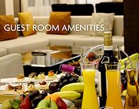 Guest Room Amenities (Food Shots)