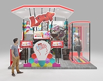 Booth Telkomsel Loop @ YTFF2015