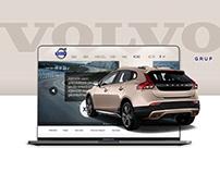 VOLVO GRUP   Website Design