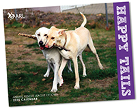 Animal Rescue League of Iowa - 2015 Calendar Design