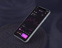 App design for a crypto buying platform