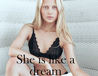 """She is like a dream"" Elléments Magazine"