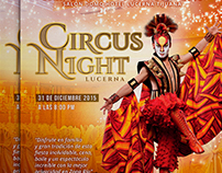 Circus Night - Publicidad