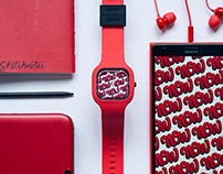 SWAPxTYPE Now Watch Design