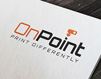 OnPoint   Logo & Business Cards