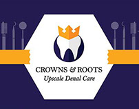 Crowns & Roots - Dental Clinic Branding