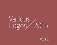 Various Logos / 2015   Part II