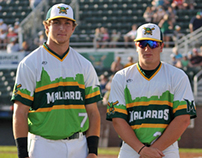 Madison Mallards Baseball Jersey