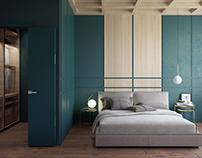 GREEN WOOD BEDROOM