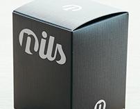 Nils interior design logotype