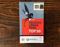 Pegasus Urban Trail Top 50 Map