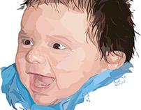 Baby Jonathan - Illustration