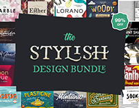 The Stylish Design Bundle – 99% Off