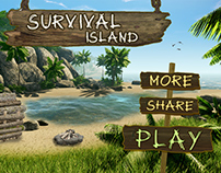 Survival on the Island Game Design