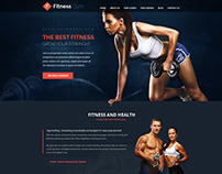 Fitness Gym – Landing Page