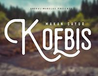 Koebis Typeface Free Font