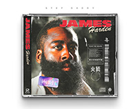 James Harden | CD Cover Concept