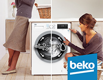 Washer Dryer // Beko