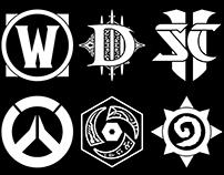 Blizzard Franchise Logos