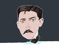 Marcel Proust for De Groene Amsterdammer
