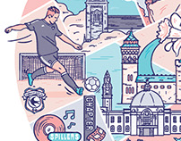 Cardiff illustration