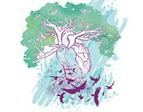 Heart and Mini Comics Prints
