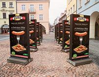 Euro Premium Meats Print Campaign