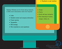 Infographics for the Department of Marketing