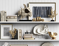 3d sets of decor for interiors(2017-2018)