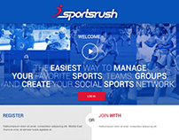 Sportsrush Social sports community proposal