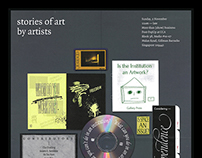 Stories of Art by Artists, Centre for Contemporary Art