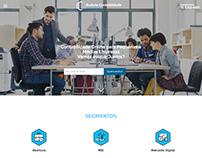 Evolute Contabilidade website